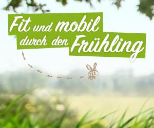 Link zur Aktion Fit und mobil durch den Frühling