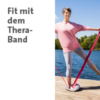 Link zur Themenwelt Fit dem Theraband im Sanivita Online-Shop