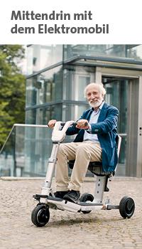 Link zur Themenwelt Mittendrin mit dem Elektromobil im Sanivita Online-Shop
