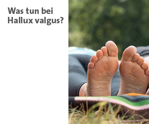 Zur Themenwelt: Was tun bei Hallux valgus - im Sanivita Online-Shop